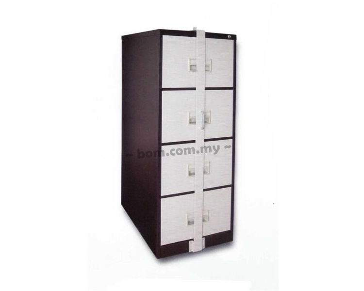 4 Drawers Filing Cabinet with Locking Bar - Malaysia Leading ...